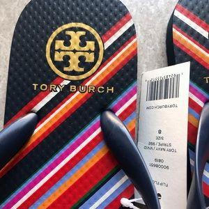 Tory Burch Shoes - {Tory Burch} Rainbow Sandals
